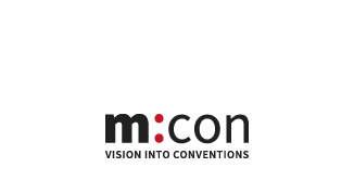 Logo m:con congress center Mannheim
